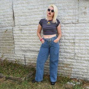 Jeanswear County Seat Vintage Wide Leg Jeans